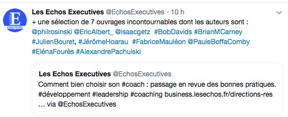 Changez de méthode dans les 7 ouvrages de référence du dossier Choisir son coach, Les Echos Executives