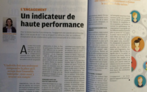 Chronique de Paule Boffa-Comby dans courrier-cadres - l'engagement, un indicateur de haute performance