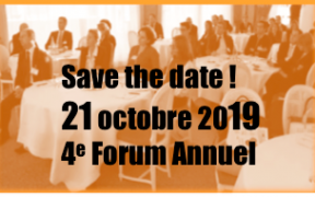 save the date 21 octobre 19 : forum annuel ReThink&Lead