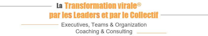 La transformation virale par les leaders et par le collectif - Executives, Teams & Organization, Coaching & Consulting
