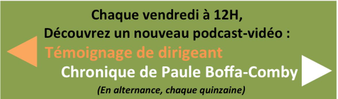 Chroniques de Paule Boffa-Comby : tous les vendredi à 12h